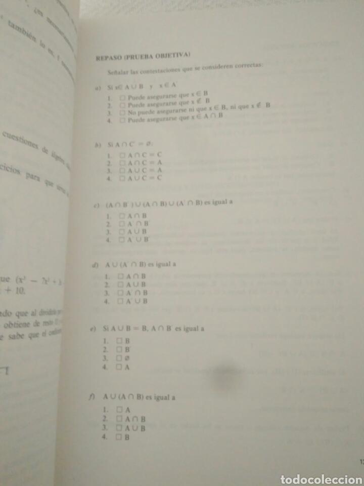 Libros de segunda mano: CAJA AHORRO CURS ECONOMICAS EMPRESARIALE.CURSO INTERMEDIO DE.MATEMATICAS 1 ENUNCIADOS Y 2 SOLUCIONES - Foto 3 - 123576459