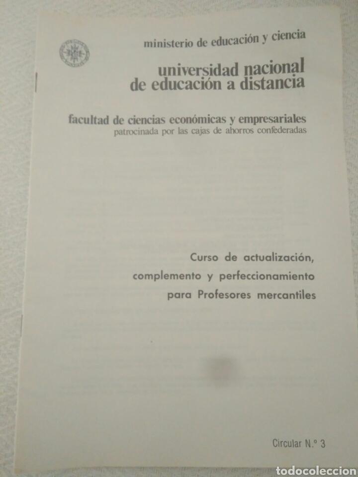 CURSO ECONOMICAS EMPRESARIALE.CURSO CAJA DE AHORRO CIRCULAR 3 (Libros de Segunda Mano - Ciencias, Manuales y Oficios - Derecho, Economía y Comercio)