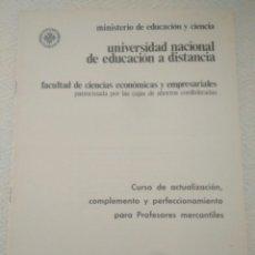 Libros de segunda mano: CURSO ECONOMICAS EMPRESARIALE.CURSO CAJA DE AHORRO CIRCULAR 1. CURSO 1979-80. Lote 132381847