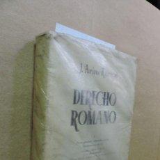Libros de segunda mano: DERECHO ROMANO I. ARIAS RAMOS, J. ED. REVISTA DE DERECHO PRIVADO. MADRID 1974. 13ª EDICIÓN. Lote 125031903