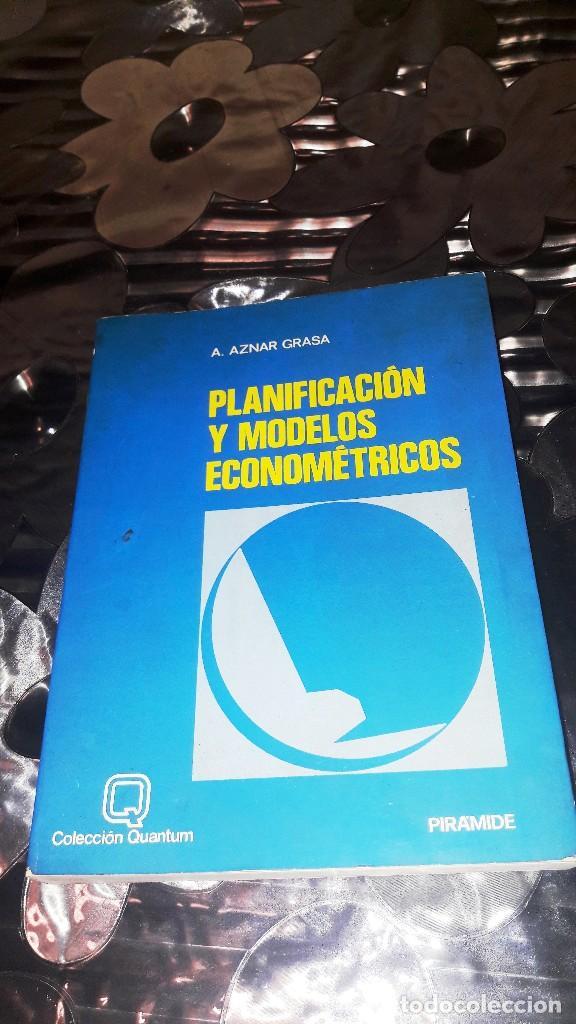 PLANIFICACION Y MODELOS ECONOMETRICOS - A. AZNAR GRASA (Libros de Segunda Mano - Ciencias, Manuales y Oficios - Derecho, Economía y Comercio)