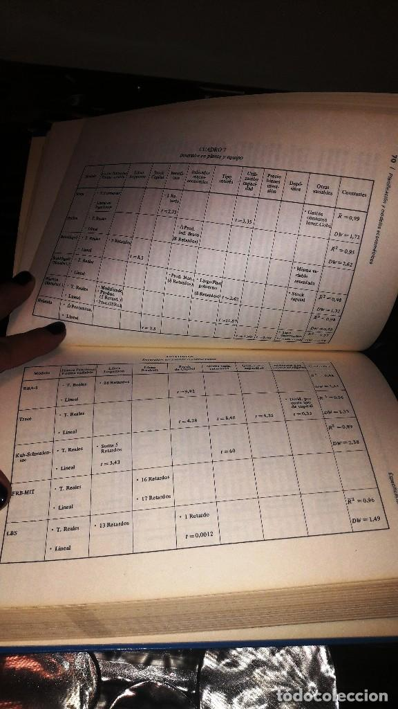 Libros de segunda mano: PLANIFICACION Y MODELOS ECONOMETRICOS - A. AZNAR GRASA - Foto 2 - 131800694