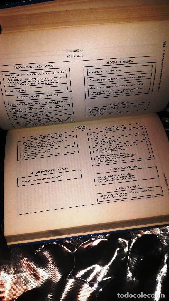 Libros de segunda mano: PLANIFICACION Y MODELOS ECONOMETRICOS - A. AZNAR GRASA - Foto 3 - 131800694