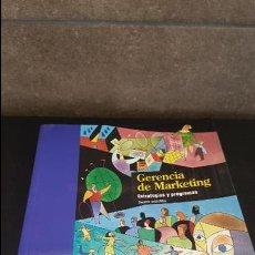 Libros de segunda mano: GERENCIA DE MARKETING. ESTRATEGIAS Y PROGRAMAS. JOSEPH P. GUILTINAN, GORDON W. PAUL Y THOMAS J. MADE. Lote 125441335