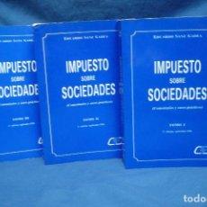 Libros de segunda mano: IMPUESTO SOBRE SOCIEDADES - EDUARDO SANZ GADEA - C.E.F. 1981. Lote 125914467