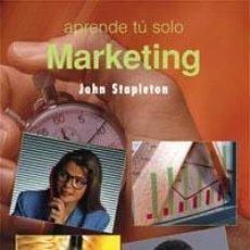 Libros de segunda mano: MARKETING. - STAPLETON, JOHN.. Lote 125983214