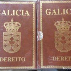 Libros de segunda mano: LOTE 2 TOMOS LIII GALICIA.DEREITO.PROYECTO GALICIA.FRANCISCO RODRIGUEZ IGLESIAS.ED.HERCULES.1993. . Lote 126045247