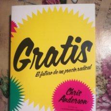Libros de segunda mano: GRATIS. EL FUTURO DE UN PRECIO RADICAL - CHRIS ANDERSON. Lote 126388563
