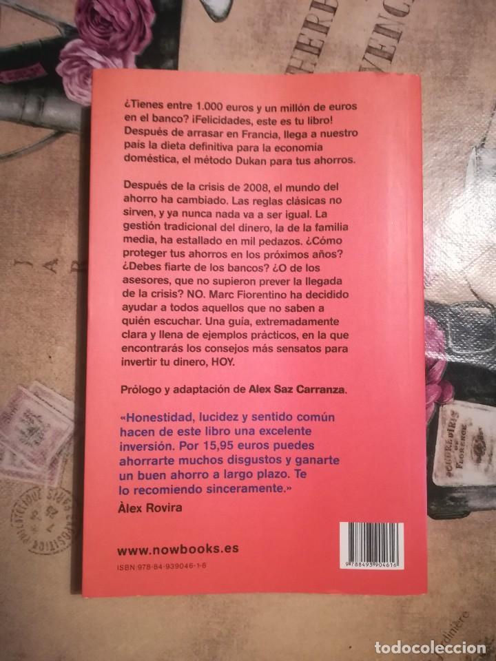 Libros de segunda mano: ¡Salva tu dinero! Una dieta para tus ahorros - Marc Fiorentino - Foto 2 - 126422563