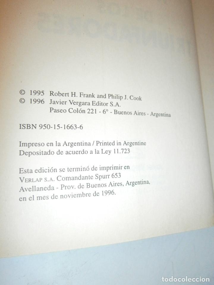Libros de segunda mano: EL MUNDO DE LOS TRIUNFADORES FRANK ROBERT COOK PHILIP JAVIER VERGARA 1996 - Foto 8 - 128780979