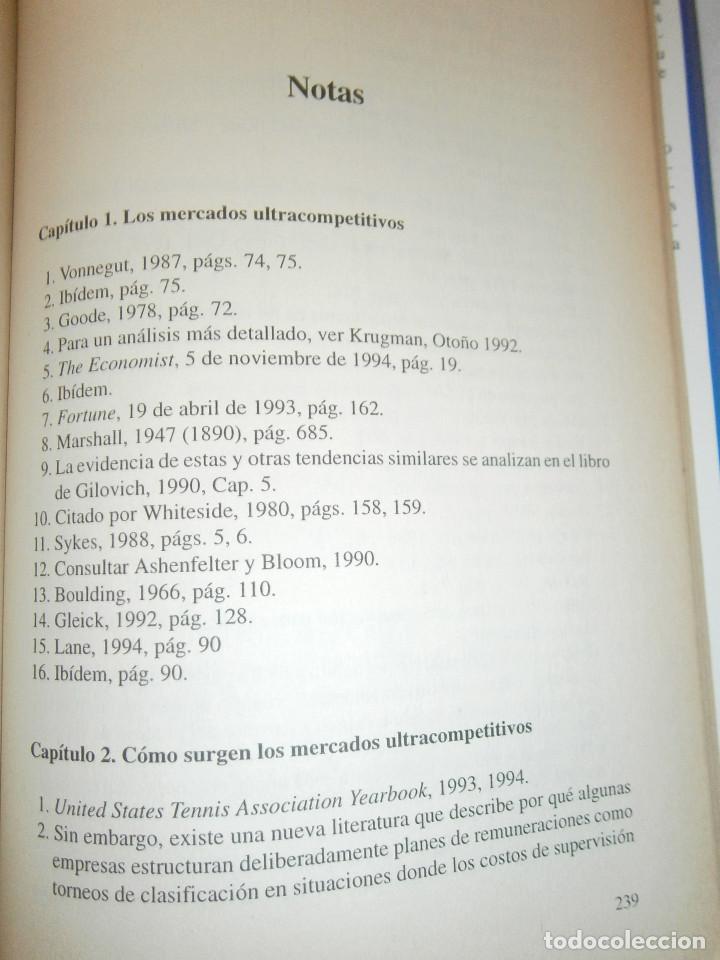 Libros de segunda mano: EL MUNDO DE LOS TRIUNFADORES FRANK ROBERT COOK PHILIP JAVIER VERGARA 1996 - Foto 10 - 128780979