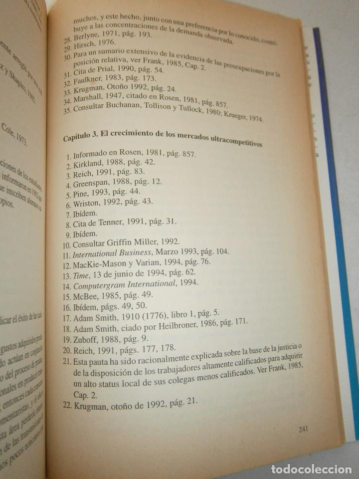 Libros de segunda mano: EL MUNDO DE LOS TRIUNFADORES FRANK ROBERT COOK PHILIP JAVIER VERGARA 1996 - Foto 12 - 128780979