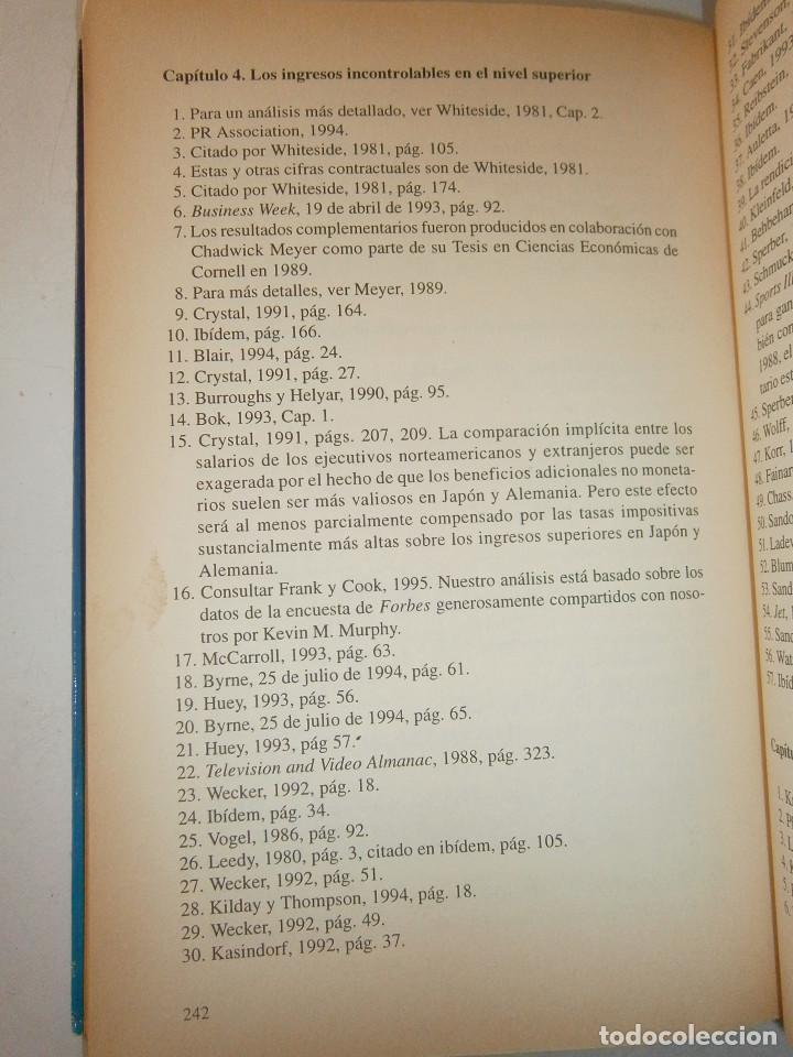 Libros de segunda mano: EL MUNDO DE LOS TRIUNFADORES FRANK ROBERT COOK PHILIP JAVIER VERGARA 1996 - Foto 13 - 128780979
