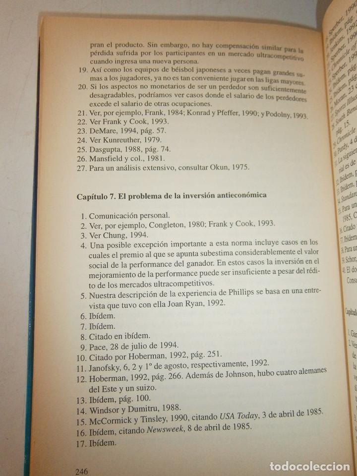 Libros de segunda mano: EL MUNDO DE LOS TRIUNFADORES FRANK ROBERT COOK PHILIP JAVIER VERGARA 1996 - Foto 15 - 128780979