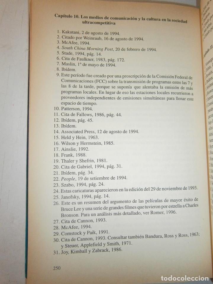 Libros de segunda mano: EL MUNDO DE LOS TRIUNFADORES FRANK ROBERT COOK PHILIP JAVIER VERGARA 1996 - Foto 19 - 128780979