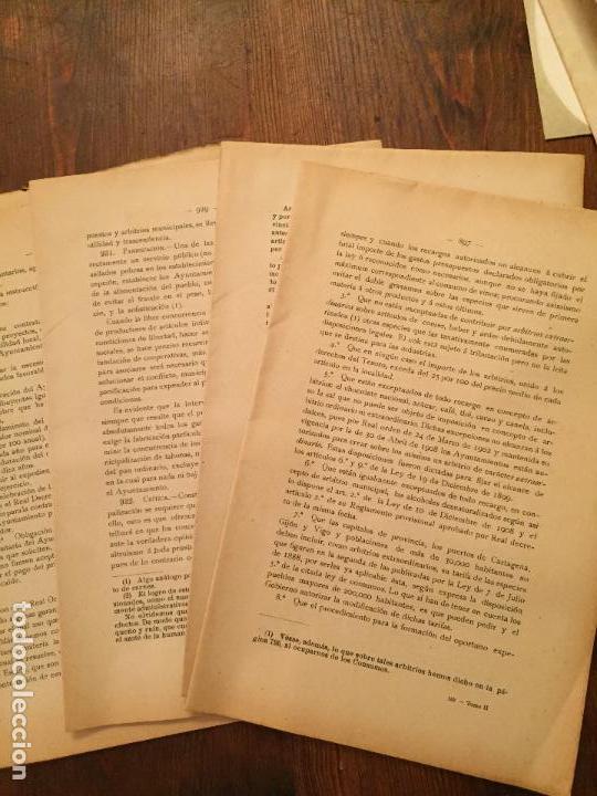 Libros de segunda mano: Antiguo libro Guía Teórico práctica para secretario de ayuntamiento, secretario de juzgado municipal - Foto 2 - 128833079