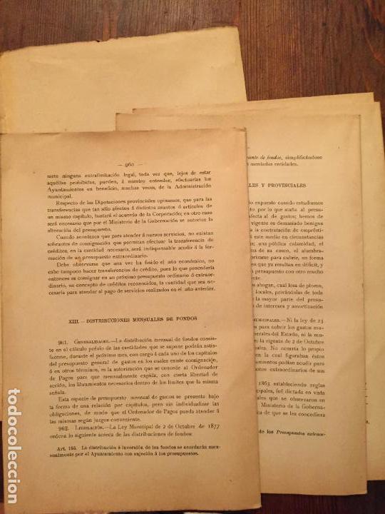 Libros de segunda mano: Antiguo libro Guía Teórico práctica para secretario de ayuntamiento, secretario de juzgado municipal - Foto 3 - 128833079