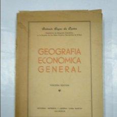 Libros de segunda mano: GEOGRAFÍA ECONÓMICA GENERAL. HOYOS DE CASTRO, ANTONIO. LIBRERIA CASA MARTIN VALLADOLID. TDK350. Lote 128871231