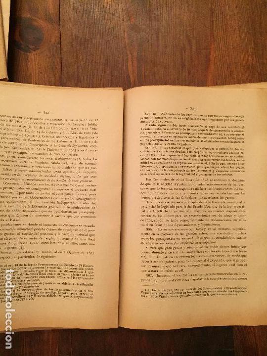 Libros de segunda mano: Antiguo libro Guía Teórico práctica para secretario de ayuntamiento, secretario de juzgado municipal - Foto 7 - 128833079