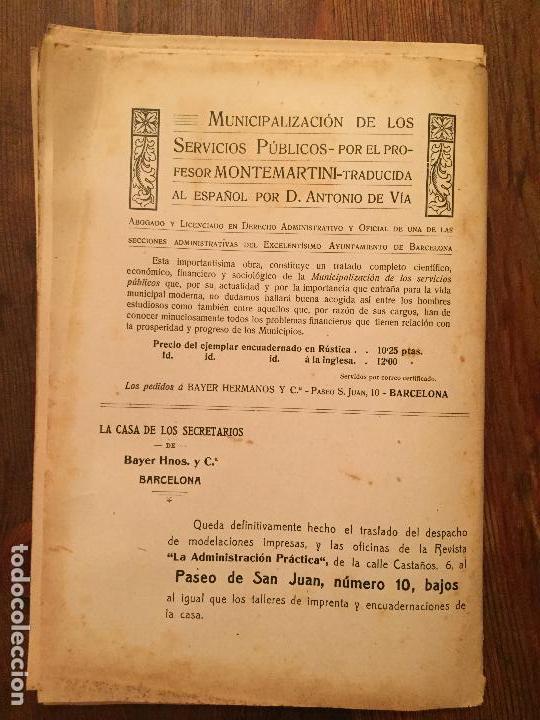 Libros de segunda mano: Antiguo libro Guía Teórico práctica para secretario de ayuntamiento, secretario de juzgado municipal - Foto 8 - 128833079