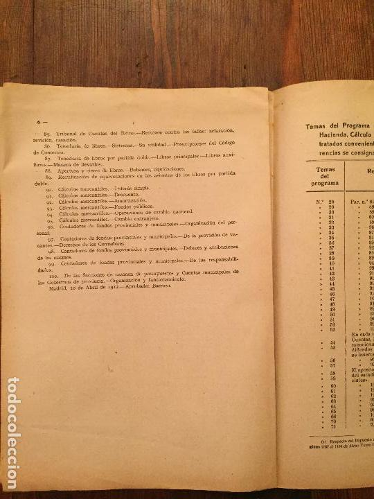 Libros de segunda mano: Antiguo libro Guía Teórico práctica para secretario de ayuntamiento, secretario de juzgado municipal - Foto 11 - 128833079
