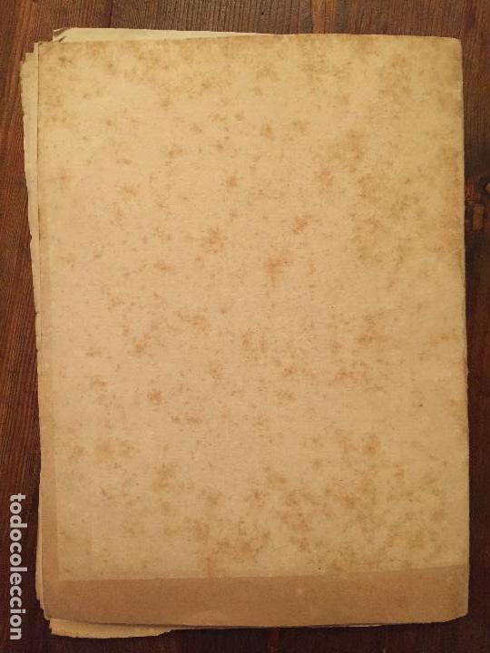 Libros de segunda mano: Antiguas instrucciones complementarias para la confeccion de mapa municipal de abastecimiento año 45 - Foto 4 - 128874271