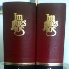 Libros de segunda mano: 2 TOMOS LA LEY, IMPUESTOS 2004. Lote 130074355