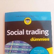 Libros de segunda mano: SOCIAL TRADING PARA DUMMIES. Lote 130321515
