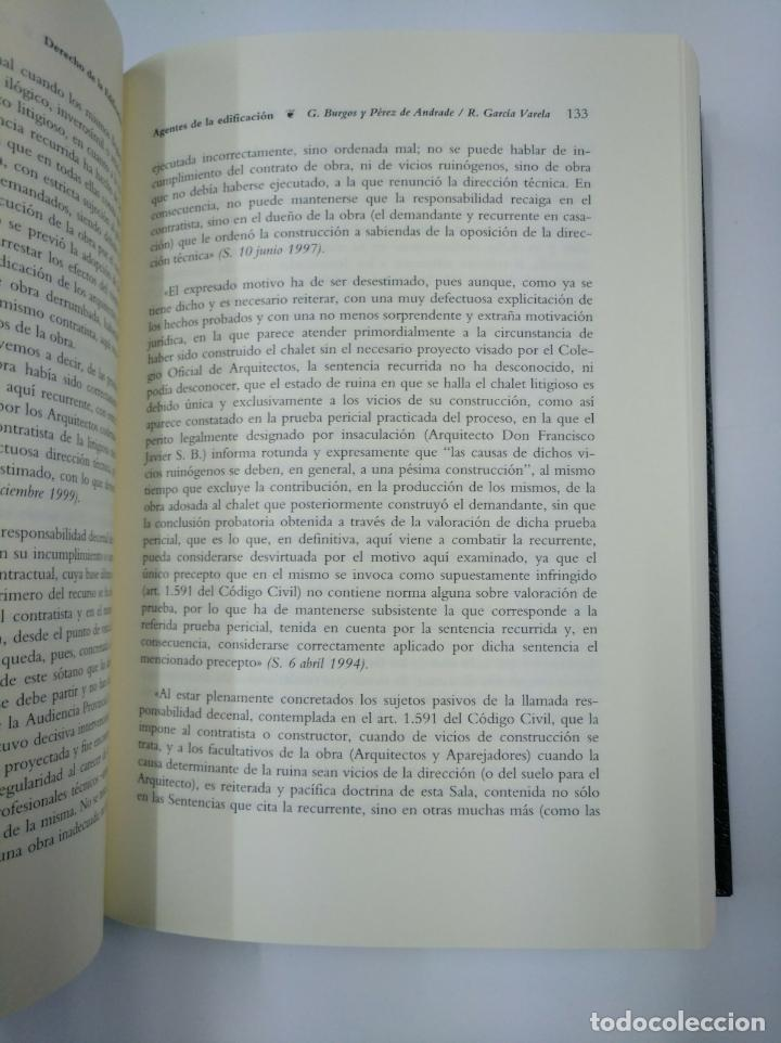 Libros de segunda mano: DERECHO DE LA EDIFICACION. PASCUAL SALA SANCHEZ. BOSCH. TDK307 - Foto 2 - 130424158