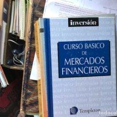 Libros de segunda mano: CURSO BÁSICO DE MERCADOS FINANCIEROS. Lote 130429371
