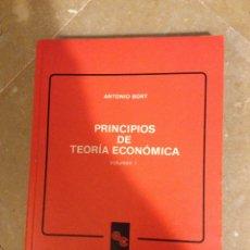 Libros de segunda mano: PRINCIPIOS DE TEORÍA ECONÓMICA VOLUMEN I (ANTONIO BORT). Lote 130528742