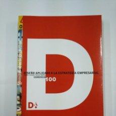 Libros de segunda mano: DISEÑO APLICADO A LA ESTRATEGIA EMPRESARIAL. COMERCIO 100. LA RIOJA. OVIEDO. TOLEDO. MURCIA. TDK351. Lote 130676584