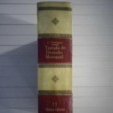 Libros de segunda mano: J. GARRIGUES - TRATADO DE DERECHO MERCANTIL II. TÍTULOS VALORES - REVISTA DE DERECHO MERCANTIL. Lote 131207552