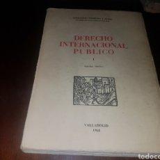 Libros de segunda mano: DERECHO INTERNACIONAL PÚBLICO. Lote 131413998