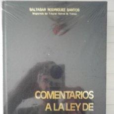 Libros de segunda mano - Baltasar Rodríguez Santos - Comentarios a la ley de procedimiento laboral. Tomo I - 131877510
