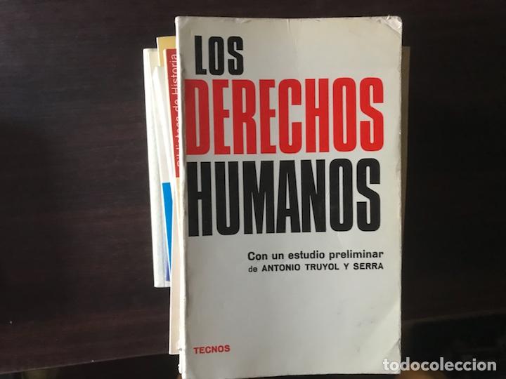 LOS DERECHOS HUMANOS. TECNOS (Libros de Segunda Mano - Ciencias, Manuales y Oficios - Derecho, Economía y Comercio)