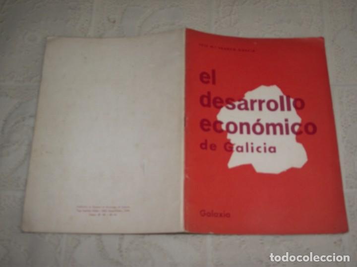 Libros de segunda mano: EL DESARROLLO ECONÓMICO DE GALICIA. JOSE Mª FRANCO GARCIA. GALAXIA, 1967 - Foto 2 - 132159634