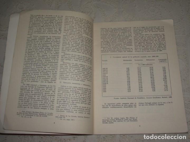 Libros de segunda mano: EL DESARROLLO ECONÓMICO DE GALICIA. JOSE Mª FRANCO GARCIA. GALAXIA, 1967 - Foto 4 - 132159634
