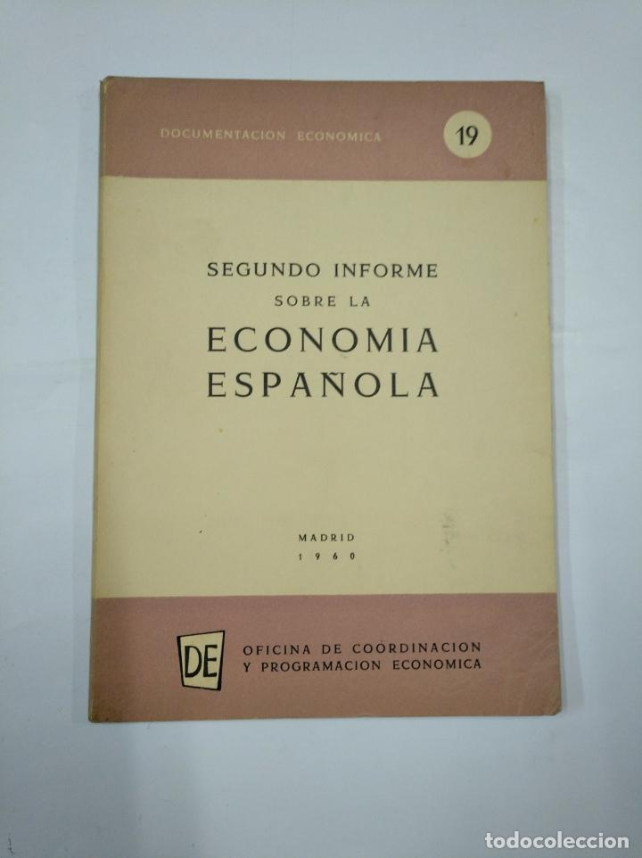EVOLUCIÓN DE LA ECONOMÍA ESPAÑOLA EN EL AÑO 1960. MADRID 161. OFICINA COORDINACION ECONOMICA TDK352 (Libros de Segunda Mano - Ciencias, Manuales y Oficios - Derecho, Economía y Comercio)