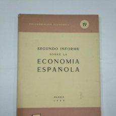 Libros de segunda mano: EVOLUCIÓN DE LA ECONOMÍA ESPAÑOLA EN EL AÑO 1960. MADRID 161. OFICINA COORDINACION ECONOMICA TDK352. Lote 133094966