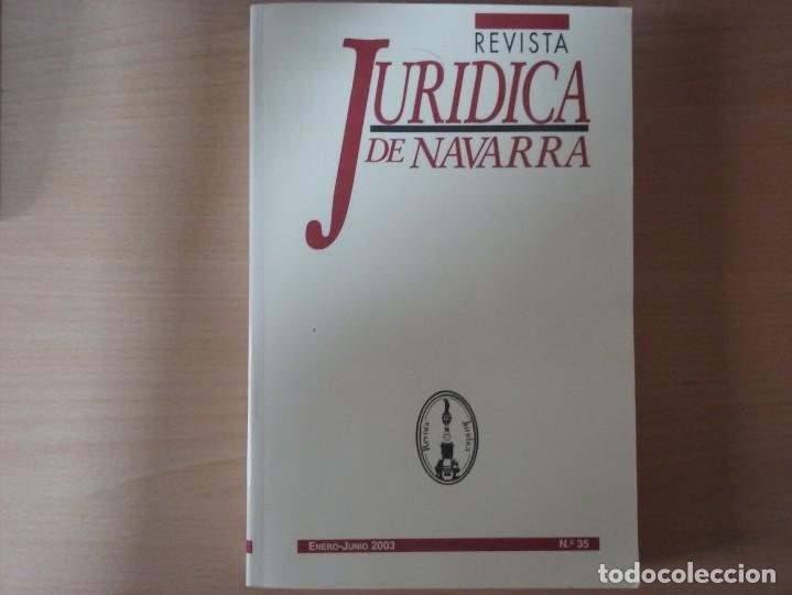 REVISTA JURIDICA DE NAVARRA. Nº 35. ENERO - JUNIO 2003 (Libros de Segunda Mano - Ciencias, Manuales y Oficios - Derecho, Economía y Comercio)