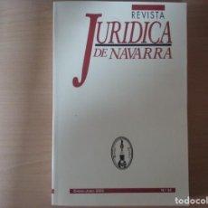 Libros de segunda mano: REVISTA JURIDICA DE NAVARRA. Nº 35. ENERO - JUNIO 2003. Lote 135026638