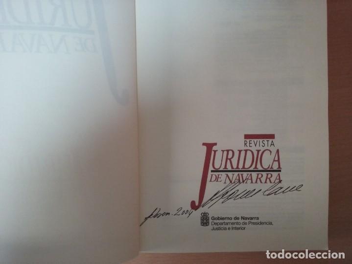 Libros de segunda mano: REVISTA JURIDICA DE NAVARRA. Nº 35. ENERO - JUNIO 2003 - Foto 2 - 135026638
