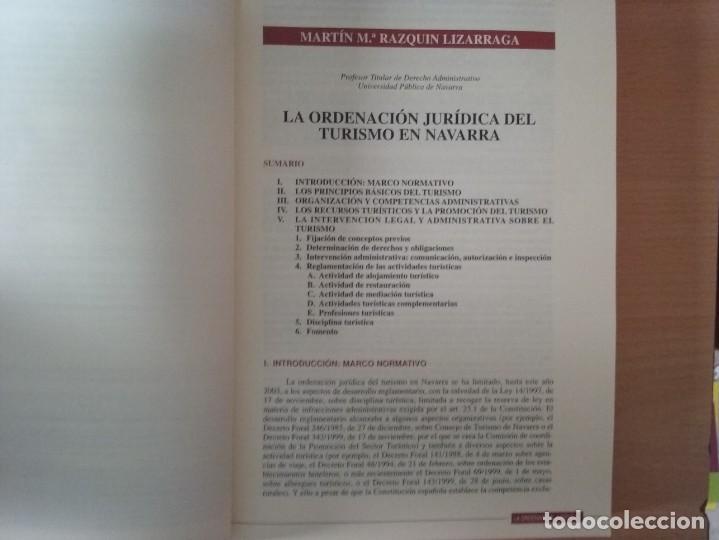 Libros de segunda mano: REVISTA JURIDICA DE NAVARRA. Nº 35. ENERO - JUNIO 2003 - Foto 7 - 135026638