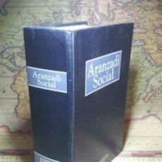 Libros de segunda mano: ARANZADI SOCIAL.1991-92. SENTENCIAS 1344-2732. AÑO 1991 VOLUMEN 2. . Lote 135034474