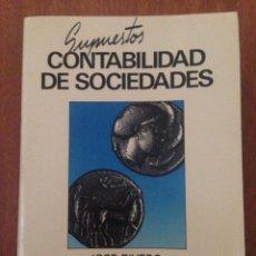 Libros de segunda mano: CONTABILIDAD DE SOCIEDADES. Lote 135138985