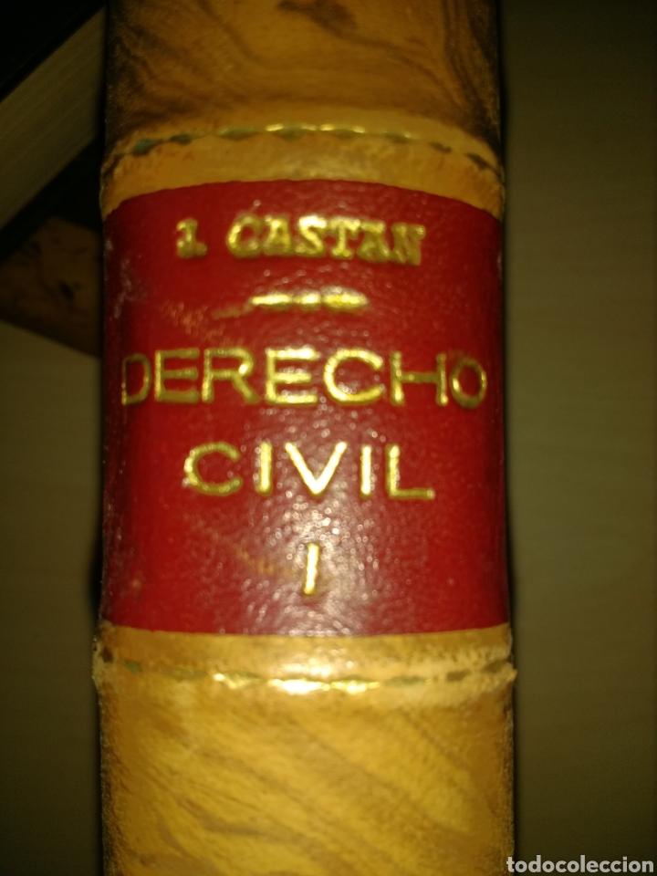 Libros de segunda mano: DERECHO CIVIL ESPAÑOL,. COMÚN Y FORAL. TOMO PRIMERO. JOSÉ CASTÁN TOBEÑAS. INSTITUTO EDITORIAL REUS. - Foto 2 - 135191537