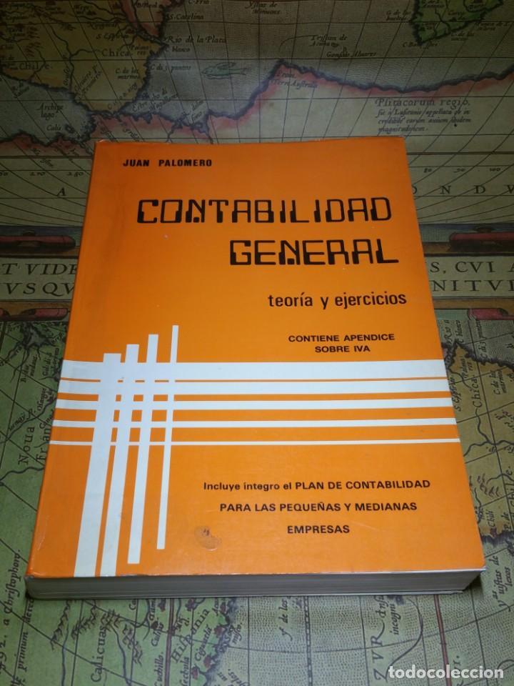 CONTABILIDAD GENERAL. TEORÍA Y EJERCICIOS. (Libros de Segunda Mano - Ciencias, Manuales y Oficios - Derecho, Economía y Comercio)