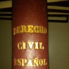 Libros de segunda mano: DERECHO CIVIL ESPAÑOL, COMÚN Y FORAL. TOMO TERCERO. JOSÉ CASTÁN TOBEÑAS. INSTITUTO EDITORIAL REUS.. Lote 135246605