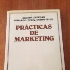 Libros de segunda mano: PRÁCTICAS DE MARKETING. Lote 135320093